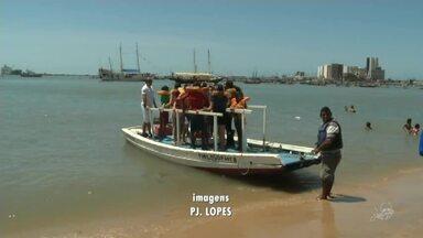 Crianças de Quiterianópolis puderam conhecer o mar pela primeira vez - Saiba mais em g1.com.br/ce