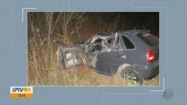 Homem morre em acidente na BR-369; idoso é atropelado na MG-184 - Homem morre em acidente na BR-369; idoso é atropelado na MG-184