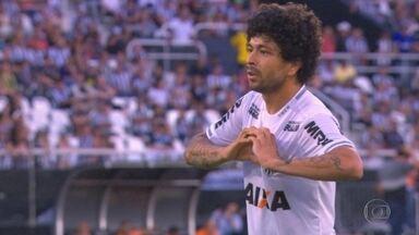 Atlético-MG vence o Botafogo no Rio com uma ajudinha que veio do banco do reservas - Atlético-MG vence o Botafogo no Rio com uma ajudinha que veio do banco do reservas
