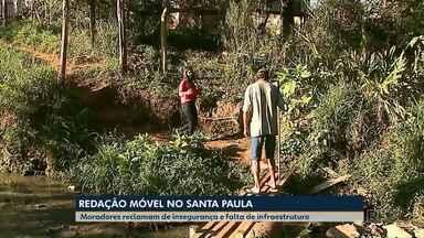 Redação Móvel mostra problemas enfrentados pelos moradores do Núcleo Santa Paula - E tem também personagem pitoresco do maior núcleo residencial de Ponta Grossa.