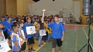 Sexta-feira foi dia da abertura oficial da Copa da Juventude - Competição reúne atletas das escolas do município.