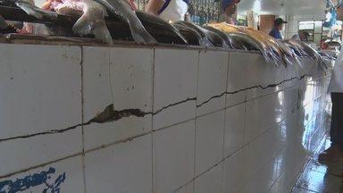 Trabalhadores denunciam estrutura de mercado municipal de Itacoatiara, no AM - Local oferece risco a trabalhadores e clientes.
