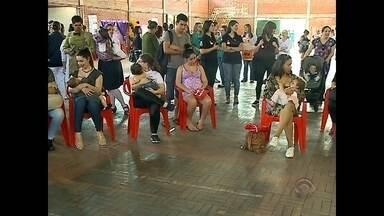Evento promove a conscientização sobre o aleitamento materno em Santa Maria - O fim de semana foi de conscientização sobre o tema em Santa Maria.
