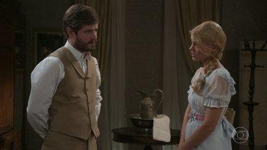 Jane convence Camilo a deixar que Julieta participe da vida do filho deles - Camilo aceita, mas avisa que não deixará que a mãe tenha o mesmo tipo de influência que teve sobre sua vida