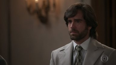 Ernesto incentiva Rômulo a perdoar Edmundo - O médico aconselha o irmão a se afastar do álcool e os dois se abraçam