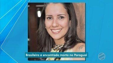 Brasileira é morta no Paraguai e a suspeita é de feminicídio - Ela foi encontrada morta nesta madrugada em um pensionato em Pedro Juan Caballero.