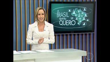 Que Brasil você quer para o futuro? Saiba como enviar o seu vídeo - A Globo quer ouvir o desejo dos brasileiros de todas as cidades do país e vai exibir as mensagens nos telejornais da emissora.