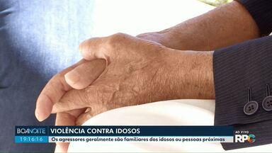 Violência contra idosos - Do começo do ano à agosto, já foram registrados 121 casos de violência em Maringá