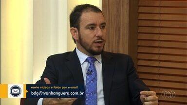 Presidente da Comissão de Direito do Trabalho da OAB-GO fala sobre regime intermitente - Wellington de Bessa Oliveira responde às dúvidas dos telespectadores.