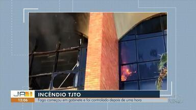 Perícia investiga causas de incêndio no prédio do Tribunal de Justiça em Palmas - Perícia investiga causas de incêndio no prédio do Tribunal de Justiça em Palmas