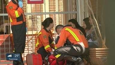 Ataque de abelhas deixa 15 adolescentes feridos em escola de Ribeirão Preto - Jovens foram socorridos pelo Corpo de Bombeiros e Samu.