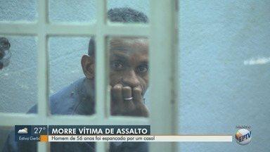 Homem de 56 anos morre após ser espancado por casal, em Campinas - Vítima saia de um bar quando foi atacado. Uma testemunha contou que ele levou chutes na cabeça e depois foi espancado novamente.