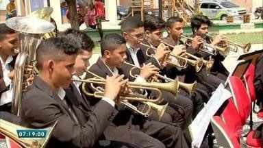 Projeto muda vida de crianças através da música, em Pindoretama - Saiba mais em g1.com.br/ce
