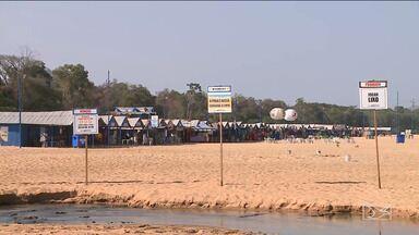 Período de veraneio continua em Imperatriz - Ministério Público divulgou esta semana um comunicado urgente, mas a Defesa Civil garante a permanência da estrutura na praia do Cacau.