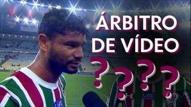 Zagueiro Gum comete gafe ao citar árbitro de vídeo - Zagueiro Gum comete gafe ao citar árbitro de vídeo
