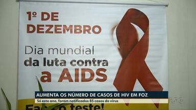 Aumento o número de casos de HIV em Foz - O Meio-Dia Paraná fala da importância de fazer o exame
