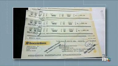 Estelionatários passam cheques falsos no nome de prefeituras - A tentativa do golpe aconteceu com duas prefeituras do Noroeste.