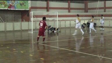 Equipe master do Embaixadores do Futsal disputam amistoso em Minas Gerais - Confronto foi repleto de gols.