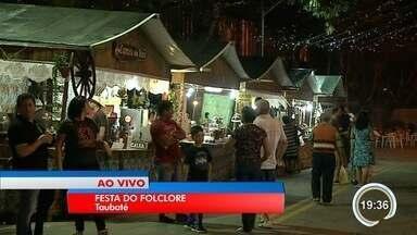 Grupos de daça e música se apresentam na festa do folclore - Festa tradicional é no Imaculada em Taubaté.