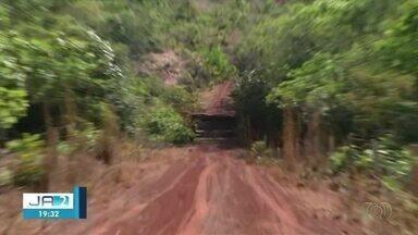 Moradores de assentamento em Darcinópolis estão sem ponte desde incêndio; entenda - Moradores de assentamento em Darcinópolis estão sem ponte desde incêndio; entenda