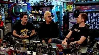 Tiago Leifert conversa com Pac e Mike, do Tazercraft - Confira o bate-papo!