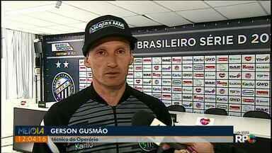 Técnico Gerson Gusmão comenta o acesso do Fantasma - Operário vence e vai disputar Série B em 2019.