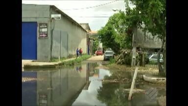 """O """"Calendário JL"""" esteve nas ruas de Belém para ouvir a denuncia da comunidade - O quadro foi até o bairro do Marco."""