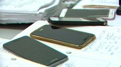 Furto ou roubo de celulares que são vendidos na internet chama atenção da polícia, no AP - Somente este ano, já foram recuperados mais de cem aparelhos telefônicos. Delegacia orienta a quem desejar fazer compra pela internet exigir a nota fiscal