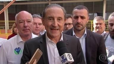 Paulo Skaf faz campanha em em Sorocaba - Paulo Skaf, candidato do MDB ao governo, esteve atrás de votos em Sorocaba.