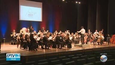 Teatro Municipal de Piracicaba volta a receber espetáculos a partir desta terça-feira (28) - Local ficou fechado durante cinco anos. A Orquestra Educacional da cidade se apresenta às 20h.