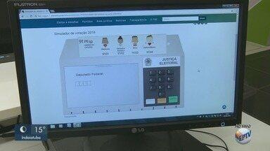 TSE prepara simulador de urna eletrônica para eleições de 2018 - Tire suas dúvidas de como votar.