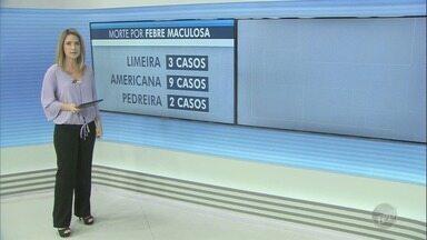 Casos de febre maculosa aumentam e preocupam moradores da região - Americana apresentou 9 casos de morte pela doença. Já foram confirmadas 22 mortes nas cidades da região.