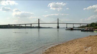 Sobe o nível do Rio Tocantins no Maranhão - Defesa Civil alerta que isso deve encobrir os bancos de areia que formam as praias de água doce ao longo do rio.