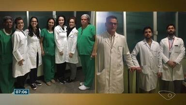 Captação de órgãos doados por família de paciente é realizada no ES - Gesto vai ajudar seis pessoas.