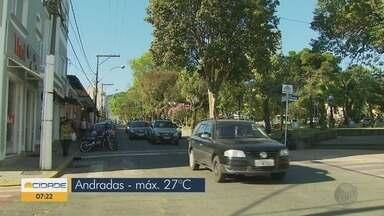 Confira a previsão do tempo em Andradas, MG - Confira a previsão do tempo em Andradas, MG