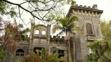 Castelo antigo é reaberto para visitação em Pelotas e faz sucesso entre moradores - A edificação pertence a família Simões Lopes.