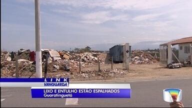 Moradores de Guará reclamam de lixão próximo das casas - Lixo é jogado em áreas verdes do município.