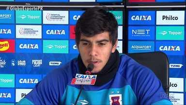 Paraná Clube continua de olho no Sport - Time que foi treinado por Claudinei Oliveira será o adversário deste domingo (2) na Ilha do Retiro, em Recife