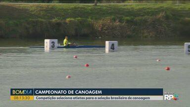São José dos Pinhais recebe campeonato brasileiro de canoagem - A competição seleciona atletas para a seleção brasileira de canoagem.