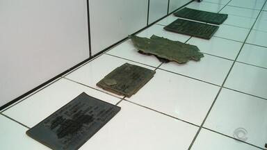 Prefeitura de Caxias do Sul retira placas de bronze para evitar furtos - Assista ao vídeo.