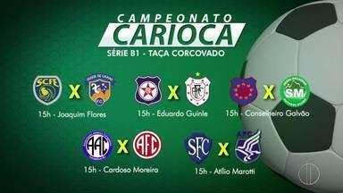 Confira os jogos do segundo turno da série B1 do Campeonato Carioca - Assista a seguir.