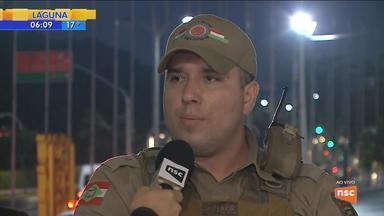 Polícia é acionada para conter princípio de rebelião em presídio de Joinville - Polícia é acionada para conter princípio de rebelião em presídio de Joinville
