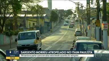Sargento PM atropelado vai ser enterrado hoje - Perseguição entre polícia e bandidos passou por três cidades em SP