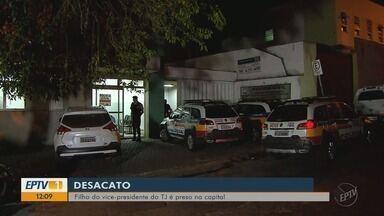 Filho de vice-presidente do TJ é preso por desacato em Belo Horizonte, MG - Filho de vice-presidente do TJ é preso por desacato em Belo Horizonte, MG
