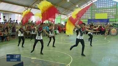 Bandas e fanfarras participam de campeonato estadual - Etapa da disputa ocorreu em Bienos Aires, na Zona da Mata Norte