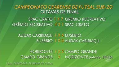 Confira as notícias esportivas na região do Cariri - Saiba mais em g1.com.br/ce
