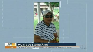 Corpo de empresário baleado será enterrado nesta segunda-feira (3) em Araguaína - Corpo de empresário baleado será enterrado nesta segunda-feira (3) em Araguaína