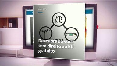 Descubra se você tem direito ao kit digital de graça - Acesse o site rpc.com.br/tvdigital.