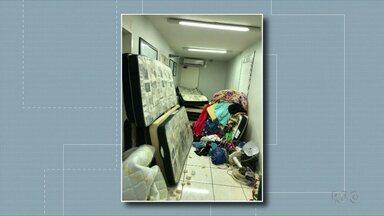 Agentes impedem rebelião de presos na cadeia de São Miguel do Iguaçu - Policiais encontraram celulares, droga e ferramentas artesanais nas celas.