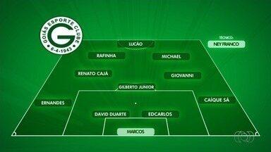 Goiás terá duas mudanças para enfrentar o Guarani - Time esmeraldino não conta com Alex Silva e Victor Ramos, suspensos, e terá Caíque Sá e Edcarlos no jogo desta terça-feira.